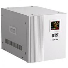 Стабилизатор напряжения однофазный Prime 3 кВт симисторного типа.